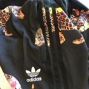 171581ee856ae3 adidas Pants - Adidas Oncada Leopard Cuffed Track Jogging Pants